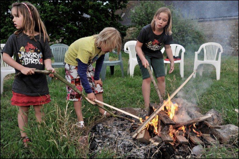 camping kleine kinderen